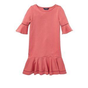 NWT Ralph Lauren Girls Ponte Dress